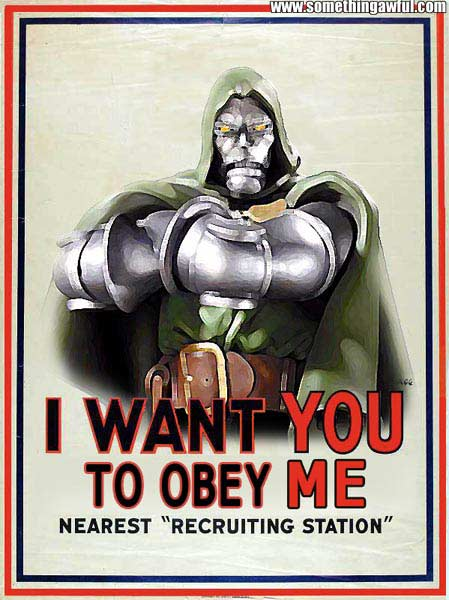 Posters motivacionales para villanos