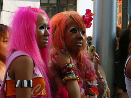 Альтернативное движение в японской молодежной уличной