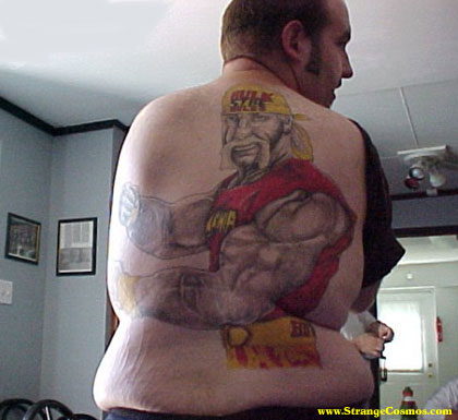 Hulkamania leaves stretch marks on