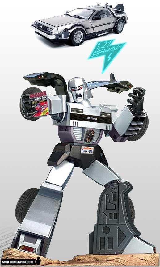los personajes de Transformers 2