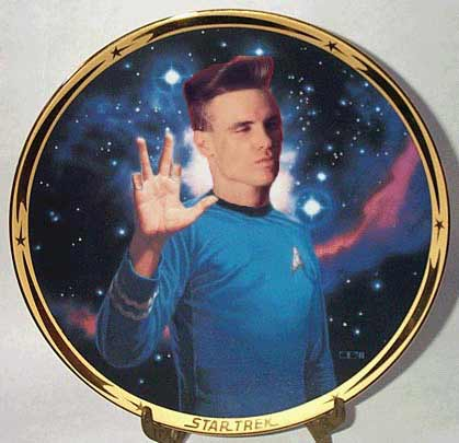 \ Oblong\  honors the classic Star Trek story \ The Trouble with Furries\   sc 1 st  Something Awful & Collectible Plates