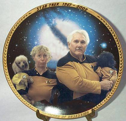SirRobin  knows the awful truth about Star trek fans  sc 1 st  Something Awful & Collectible Plates
