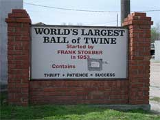 singles in cawker city Largest ball of sisal twine built by a single  george w bush tries to lift the spirits of americans by building the biggest ball of twine the cawker city,.