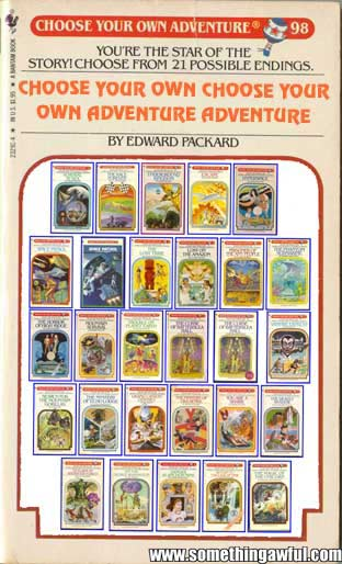 "Enjoy this week's Comedy Goldmine - ""Choose Your Own Adventure"" Books That"