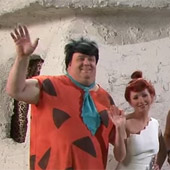I love the Flintstones Era. So I decided to live in it.