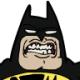 Lauren's Cartoon 3: Batman Vs. The Lightbulb