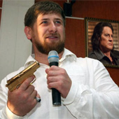 Was it Ramzan Kadyrov or Evil Dale Cooper?