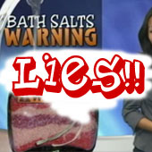 THEY don't want YOU to know: BATH SALTS are a SAFE DRUG