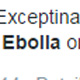 Ebola Health Alerts From Internet Idiots