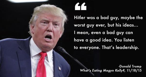 Trump vs. Trump