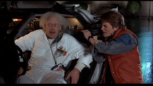 Back To The Future First Time Travel
