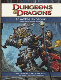 The complete dungeons & dragons 4th edition player's handbook.