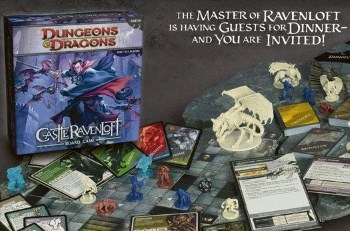 Board Game Article Dd Castle Ravenloft Wrath Of Ashardalon