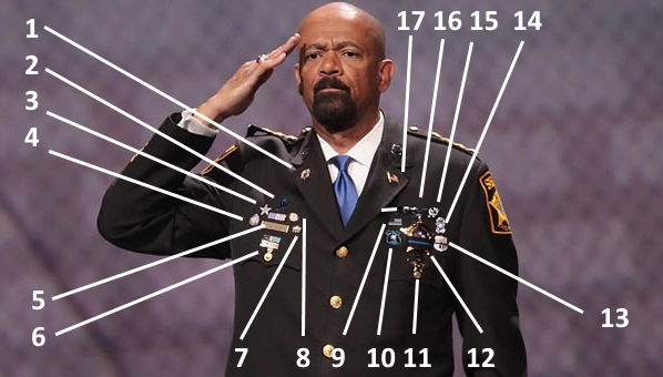 Image result for sheriff clarke buttons