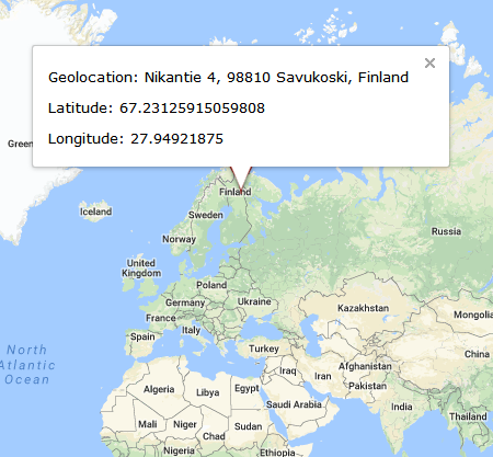 Outdated GPS Devices Where Are They Now - Iceland latitude