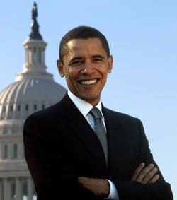 Barack Hussein Obama portrait