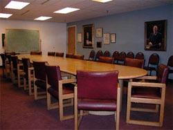 a jury room
