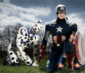 An Open Letter To Marvel Give Captain America A Dog Man Boyfriend Big dog marvel incredible hulk dog costume. give captain america a dog man boyfriend