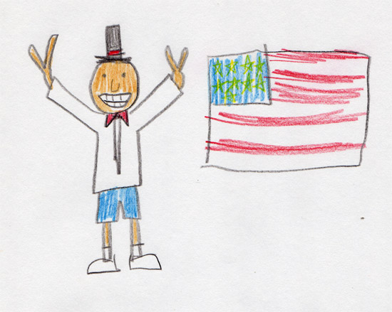 barack obama s kindergarten essay