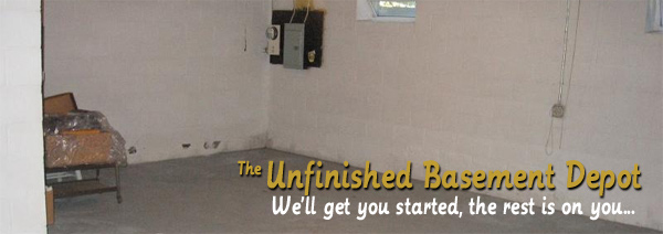 Unbelievable Deals At The Unfinished Basement Depot