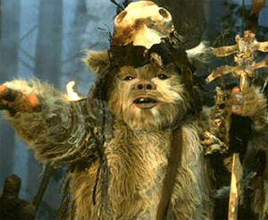 How An Ewok Almost Broke My Arm In 2005