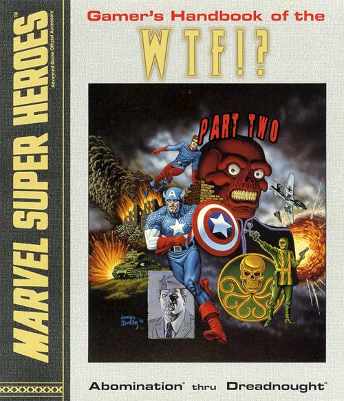 Marvel Super Heroes Monster Manual Volume One Part 2