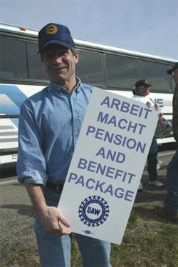 arbeit macht pension