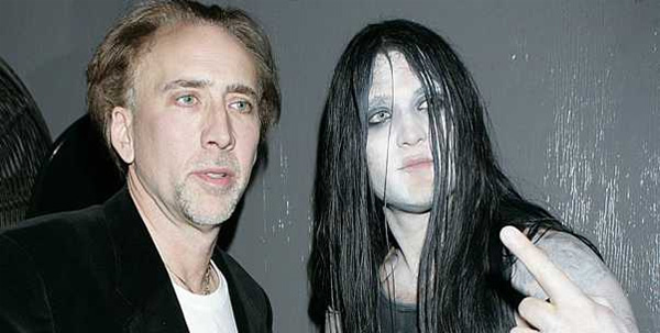 Life Lessons Learned By Nicolas Cage S Son Weston Cage