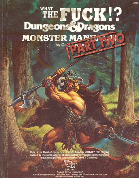 advanced dungeons   dragons monster manual ii  part 2 DD 3.5 Monster Manual 4 DD Monster Manual Rat