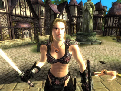 Attempts to make Oblivion's women sexy can sometimes backfire on mod makers.