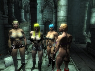 Oblivion's Wonderful Legacy (Act II) - Erotic Fun for Adult Children