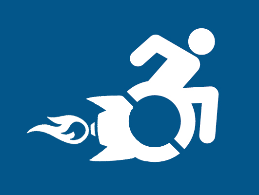the new handicapped symbol rh somethingawful com handicapped logo handicapped logo