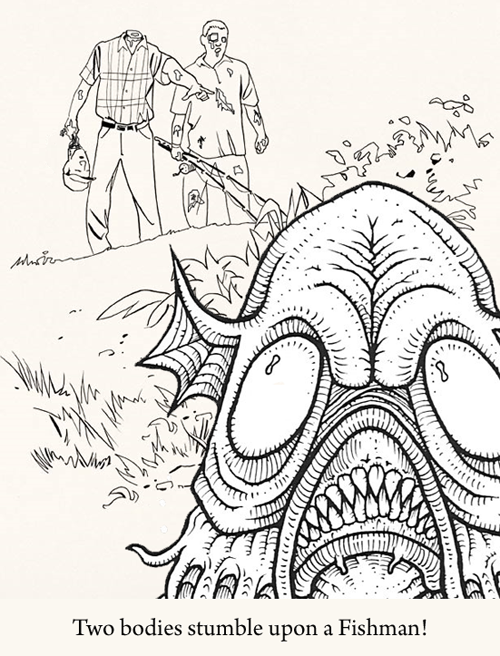 Cthulhu Coloring Book