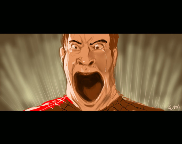 Draw Tobey Maguire!
