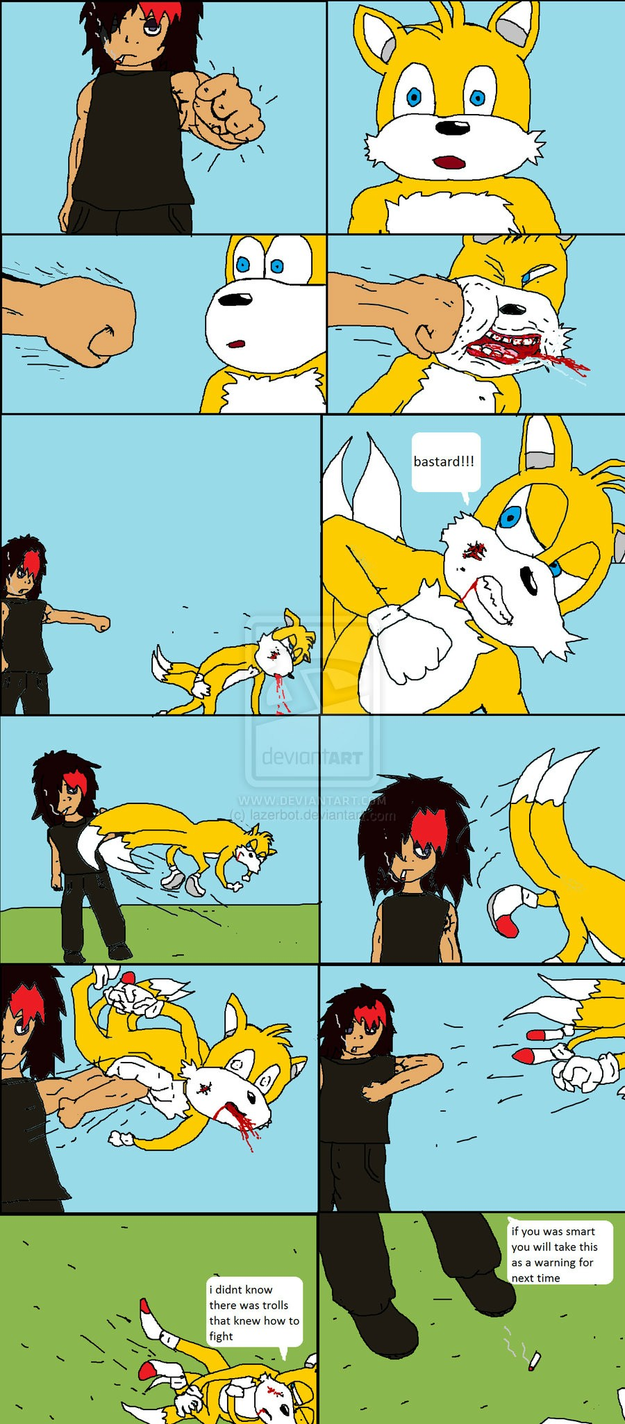 Tails gets trolled