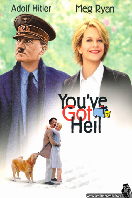 Photoshop Hitler Into Movie Posters
