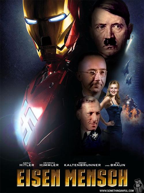 Photoshop Hitler into ...