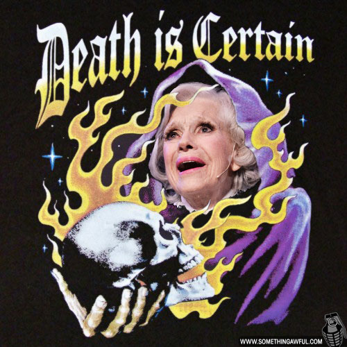 Carol Channings Disembodied Head!
