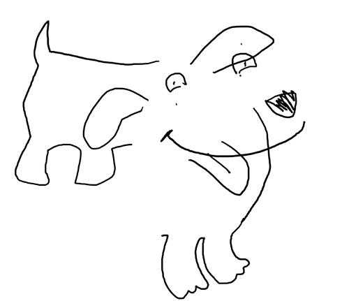 Draw Dogs With Your Eyes Closed
