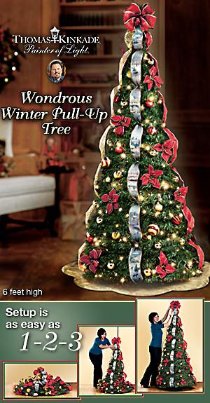 Hell In A Decorative Handbasket - Pull Up Christmas Trees