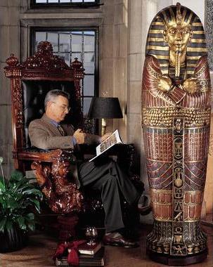 Tutankhamen   Ancient History   HISTORY com Pinterest Howard Carter  discoverer of King Tut s tomb
