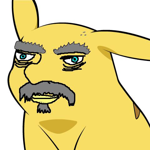 Pikachu Face Paint http://www.somethingawful.com/d/comedy-goldmine/pikachus-new-face.php