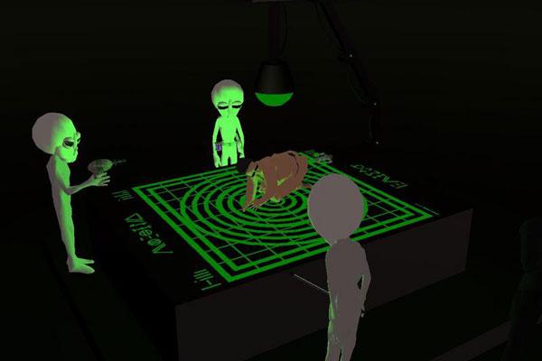 alien gamingaliens Bf2 anal probe