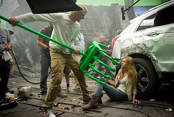 $200 million, and Michael Bay still does everything himself.