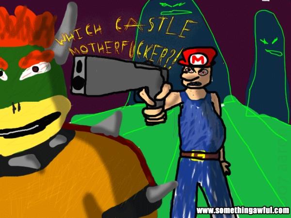 Mario Gone Mad