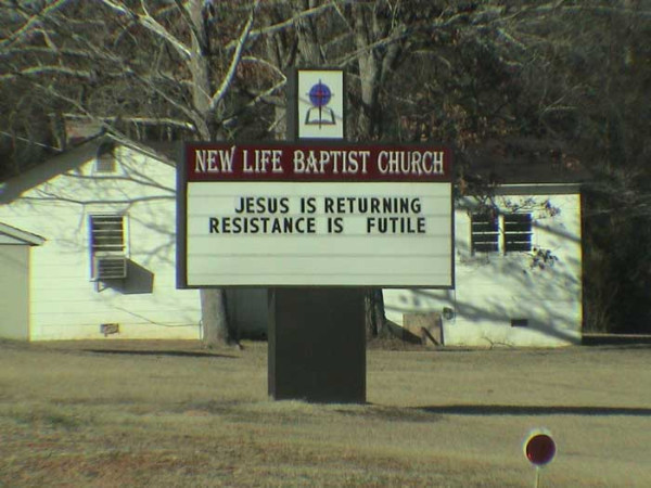 Dumb Things Seen On Church Signs