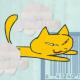look at da goddamn cat! Shit!