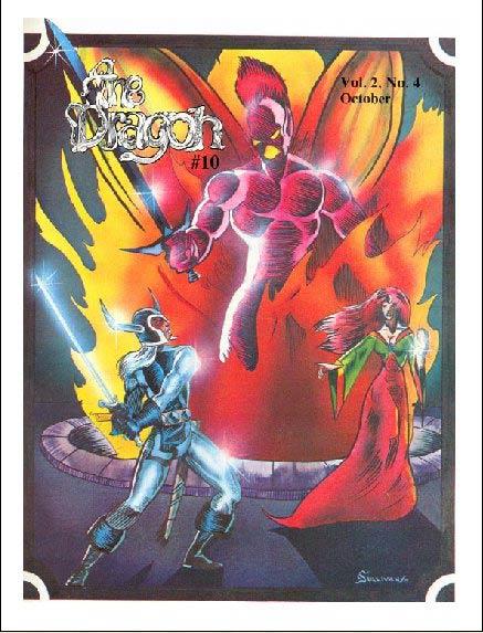 dragon magazine list