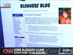 blogging addiction