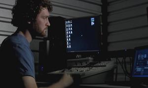 He's doing the Lord's cyberwork.